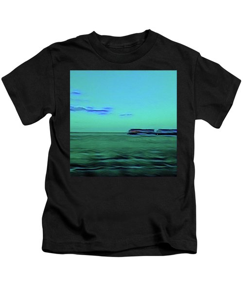 Sound Of A Train In The Distance Kids T-Shirt