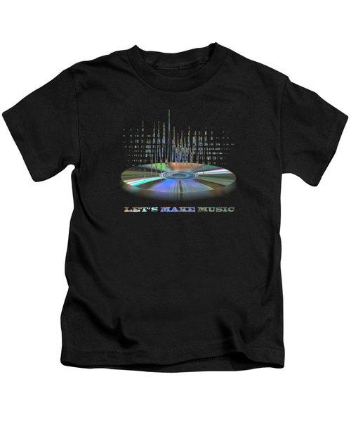 Sound Waves Kids T-Shirt