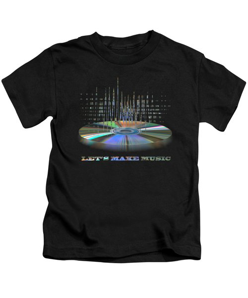 Sound Waves Kids T-Shirt