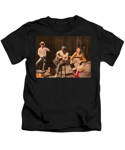 Sounds Of New Orleans Kids T-Shirt