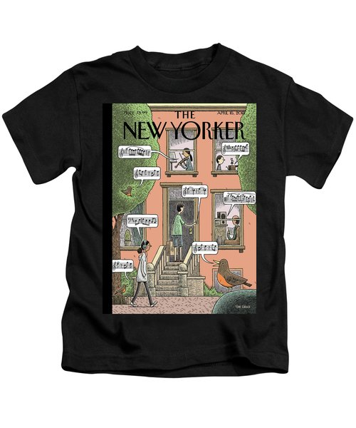 Soundtrack To Spring Kids T-Shirt