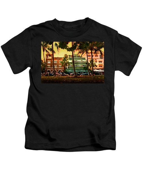 South Beach Ocean Drive Kids T-Shirt