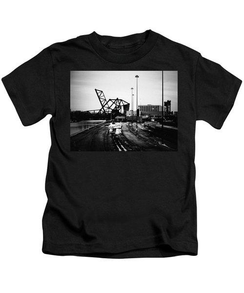 South Loop Railroad Bridge Kids T-Shirt