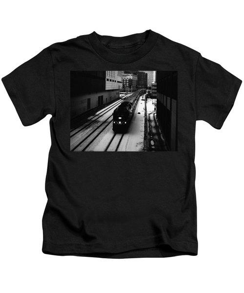 South Loop Railroad Kids T-Shirt