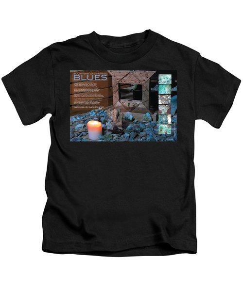 Southern California Blues Kids T-Shirt