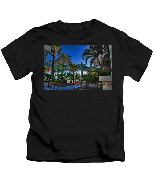 Southernmost Lush Garden In Key West Kids T-Shirt