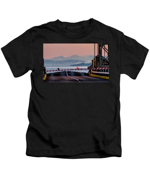 Southworth Ferry Terminal - End Of State Highway 160 Kids T-Shirt