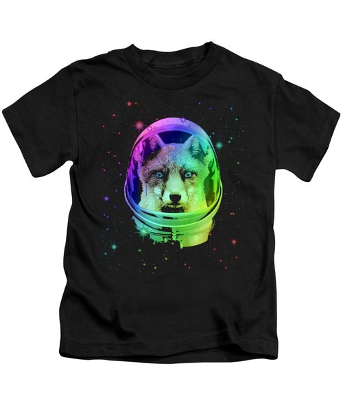 Space Fox Kids T-Shirt