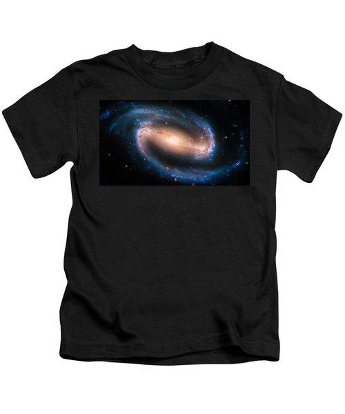 Space Image Barred Spiral Galaxy Ngc 1300 Kids T-Shirt