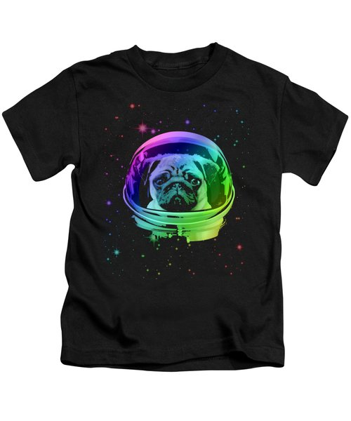 Space Pug Kids T-Shirt