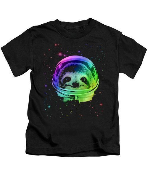 Space Sloth Kids T-Shirt