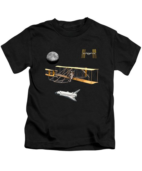 Space Voyagers Kids T-Shirt