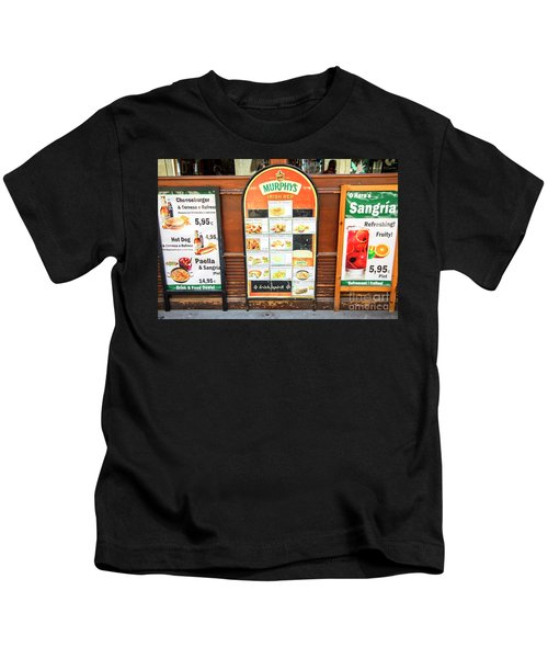 Spain Sangria Murphys Kids T-Shirt