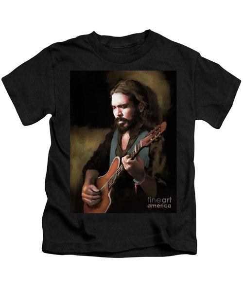 Spanish Guitar - El Javi Kids T-Shirt