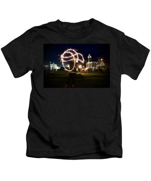 Sparkler Art Kids T-Shirt