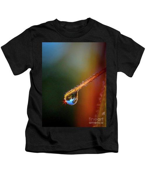 Sparkling Drop Of Dew Kids T-Shirt