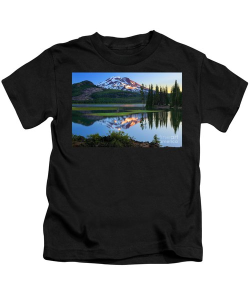 Sparks Lake Sunrise Kids T-Shirt