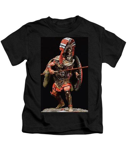 Spartan Hoplite - 05 Kids T-Shirt