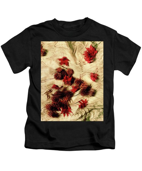 Spiked Nuts Red Kids T-Shirt