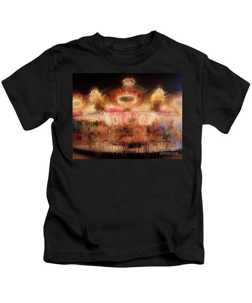 Spinning At The Speed Of Light Kids T-Shirt