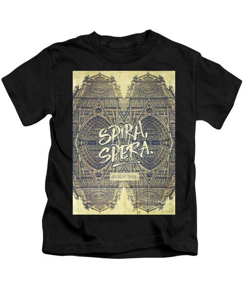 Spira Spera Victor Hugo Novel Notre-dame De Paris Kids T-Shirt