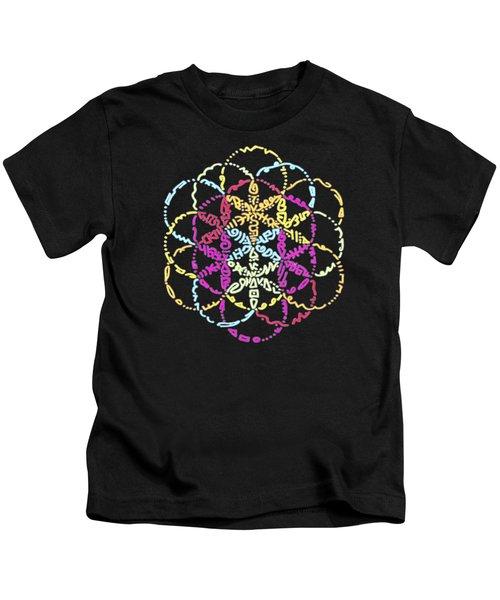 Spiral Of Color Kids T-Shirt