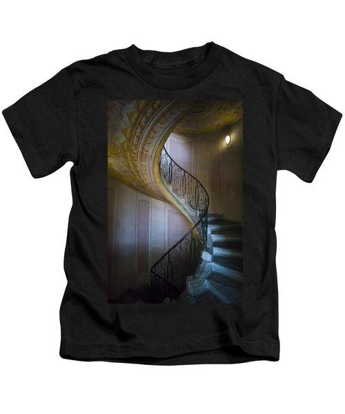 Spiral Staircase Melk Abbey II Kids T-Shirt