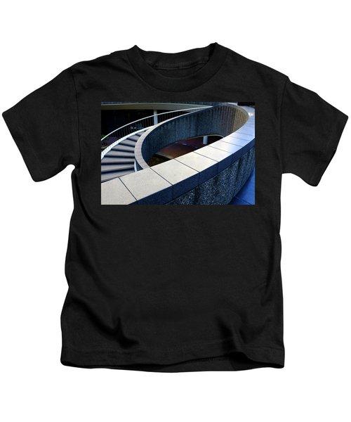 Spiral Stiars In Downtown Tacoma Washington Kids T-Shirt