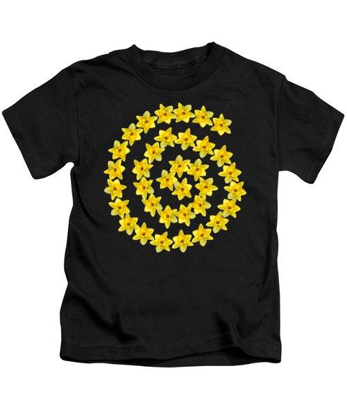 Spiral Symbol Kids T-Shirt