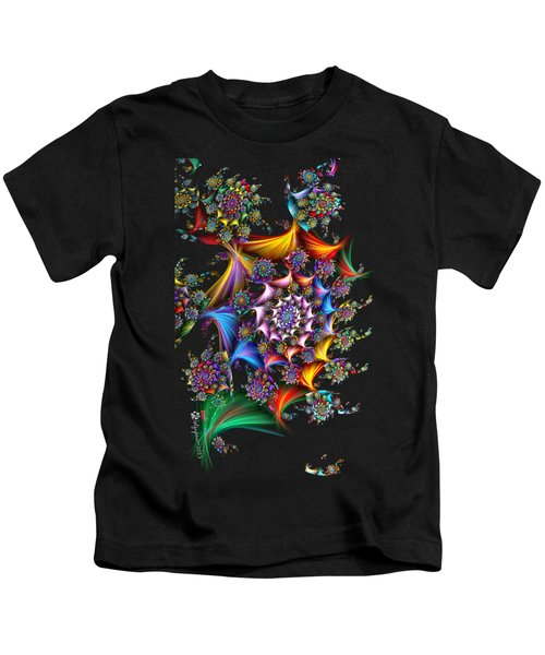Spirals And More Spirals Kids T-Shirt