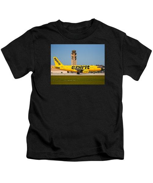 Spirit Airline Kids T-Shirt