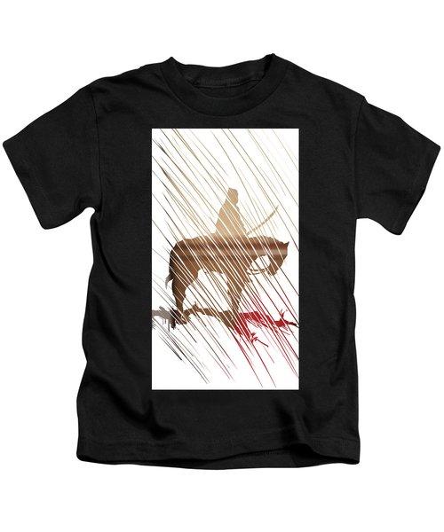Spirit Animal . War Horse  Kids T-Shirt