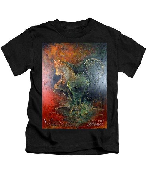 Spirit Of Mustang Kids T-Shirt
