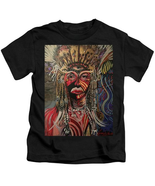 Spirit Portrait Kids T-Shirt