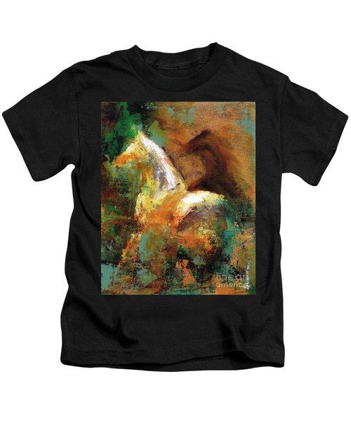 Splash Of White Kids T-Shirt