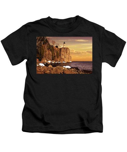 Split Rock Lighthouse Kids T-Shirt