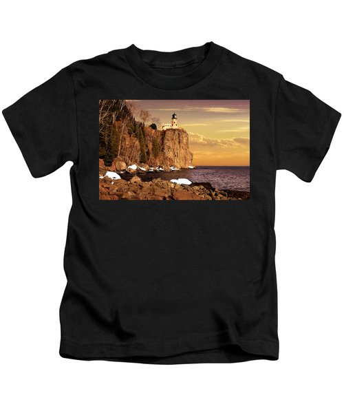 Split Rock Lighthouse Kids T-Shirt