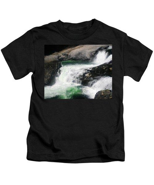 Spokane Water Fall Kids T-Shirt