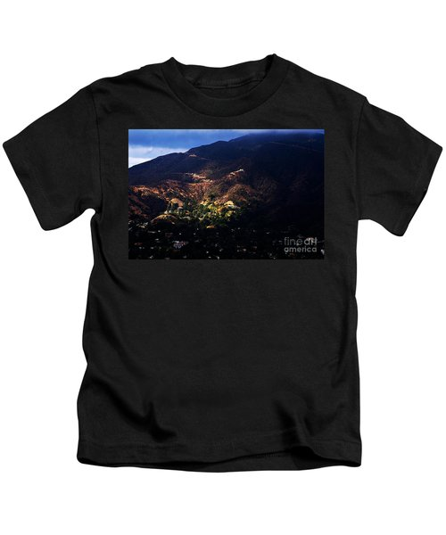 Spotlight From The Heavens Kids T-Shirt