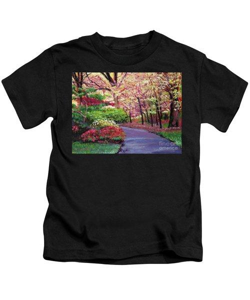 Spring Blossoms Impressions Kids T-Shirt