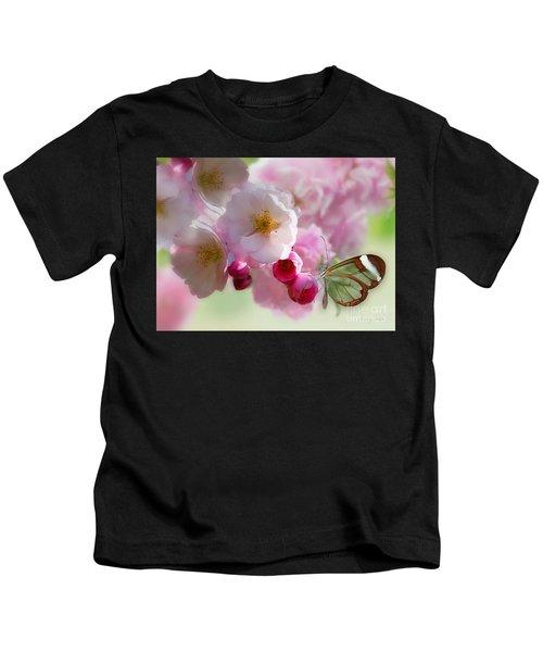 Spring Cherry Blossom Kids T-Shirt