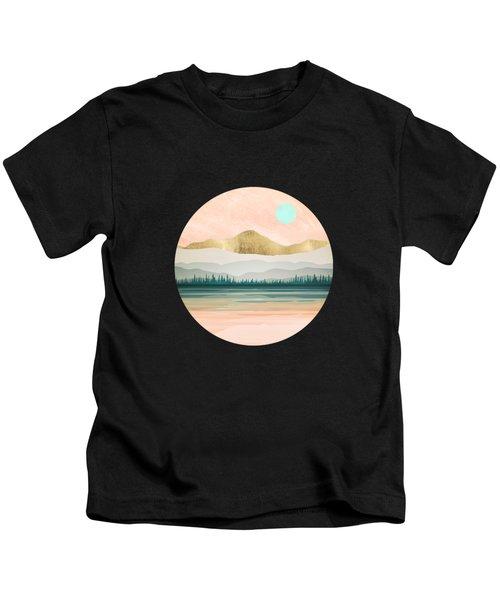 Spring Forest Lake Kids T-Shirt