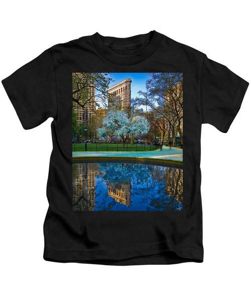 Spring In Madison Square Park Kids T-Shirt