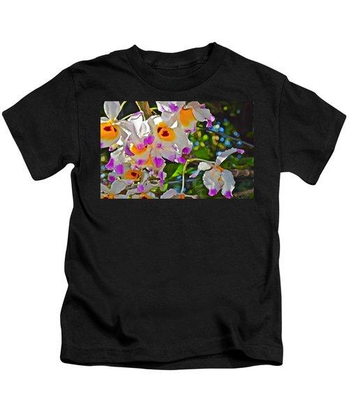 Spring Show 15 Brazilian Orchid Kids T-Shirt