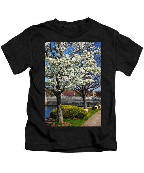 Spring Time In Westport Kids T-Shirt