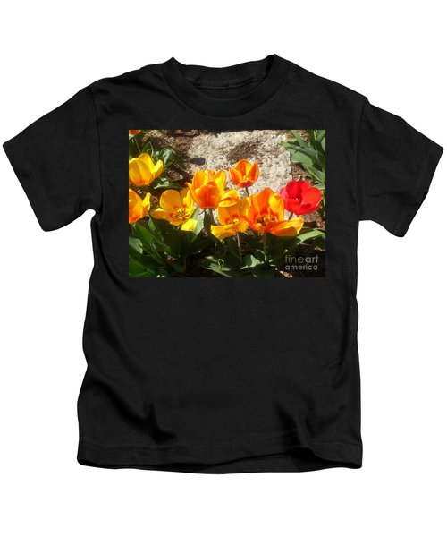 Springtime Flowers Kids T-Shirt