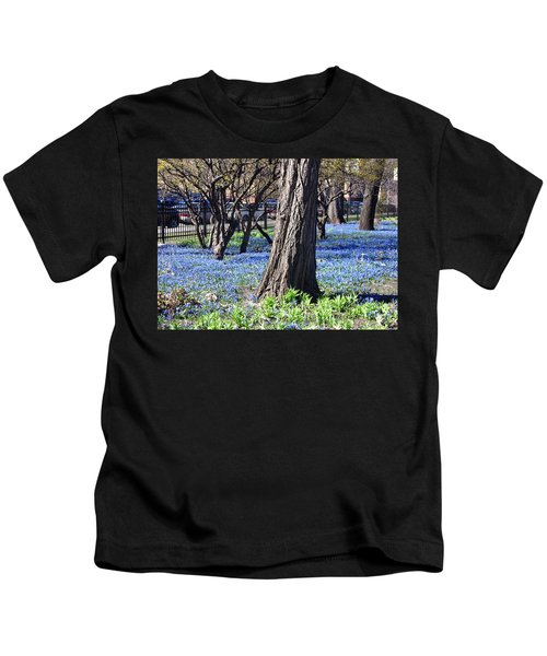 Springtime In The City Kids T-Shirt