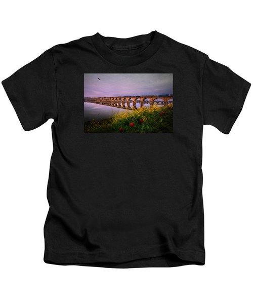 Springtime Reflections From Shipoke Kids T-Shirt