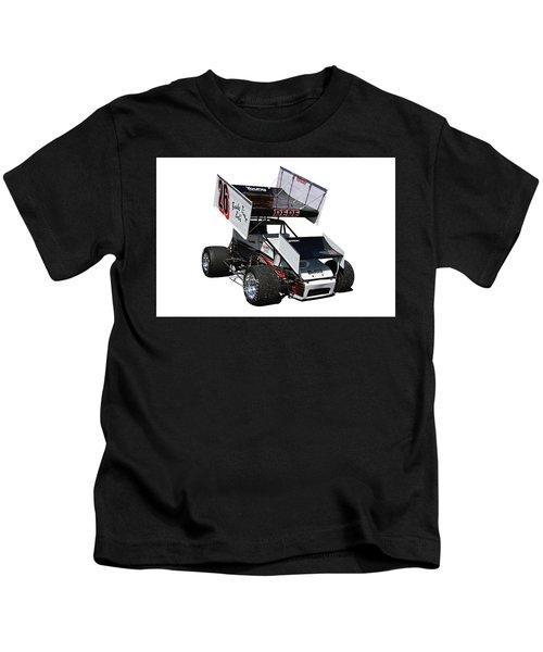 Sprint Track Race Car Kids T-Shirt