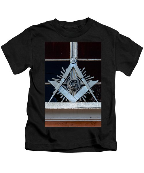 Square And Compass Kids T-Shirt